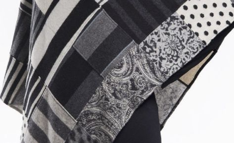 Poncho in puro cashmere colori a scelta