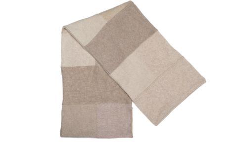 Sciarpa in cashmere patchwork unisex colori a scelta